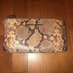 Michael Kors Bags - Michael Kors Selma Snake Leather Satchel